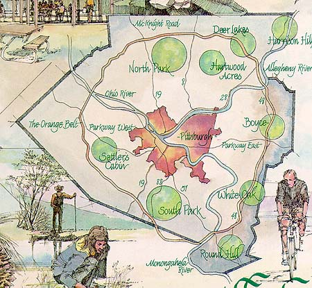 Pennsylvania Department: Local History: Allegheny County Parks on